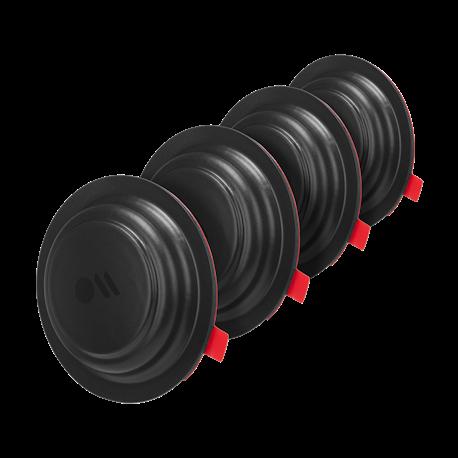Med Case-Mate Sticker Mount får du en simpel holder til din AirTag, så du nemt lokalisere dine vigtige ejendele.